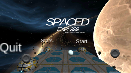 Spaced Genesis: Demo- screenshot thumbnail