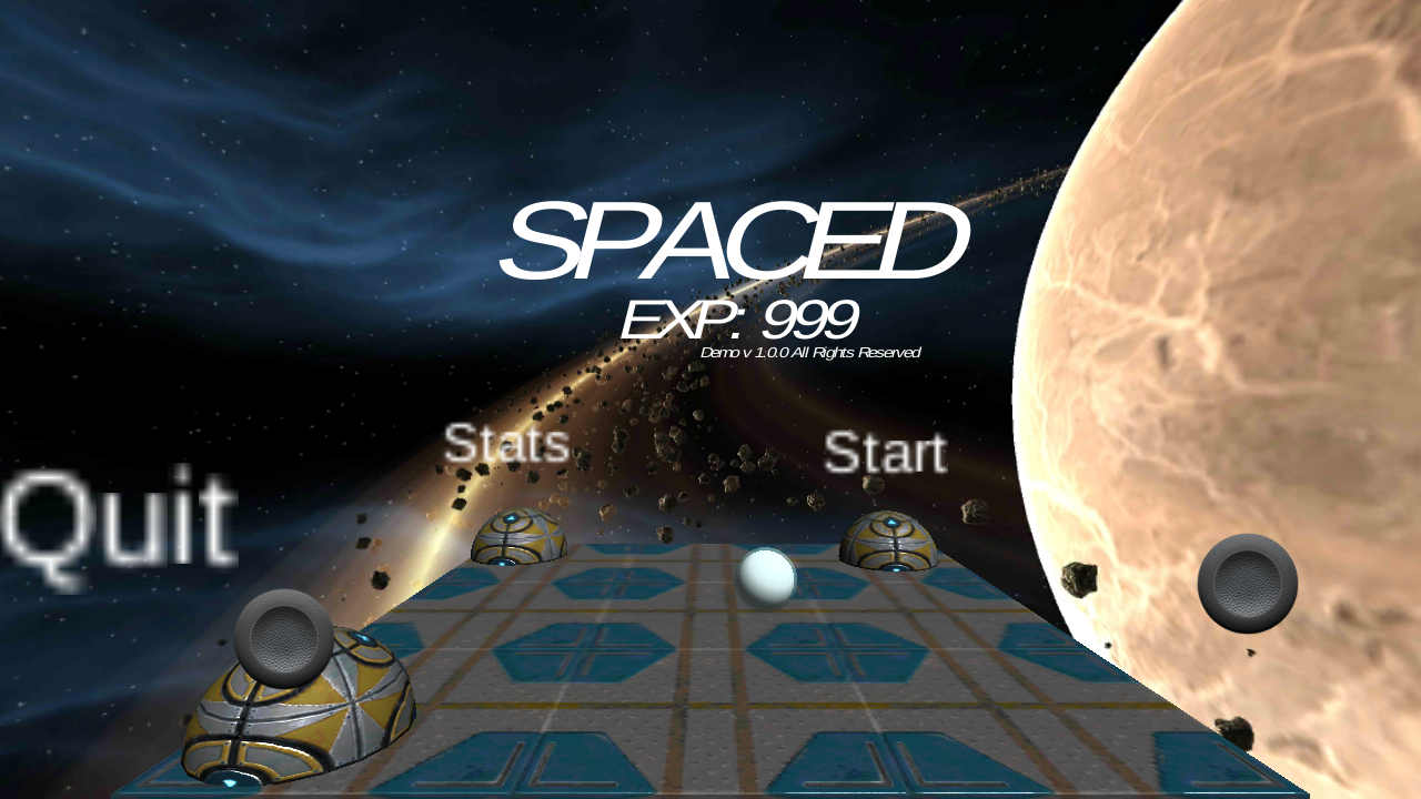 Spaced Genesis: Demo- screenshot