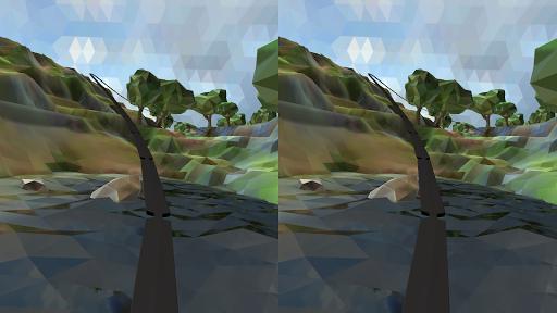 Polygonal RollerCoaster VR