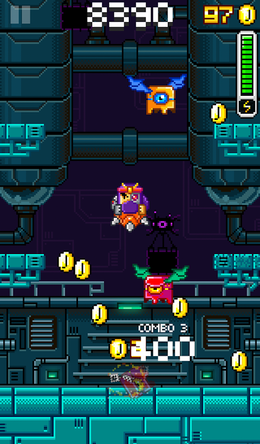 SlamBots - screenshot