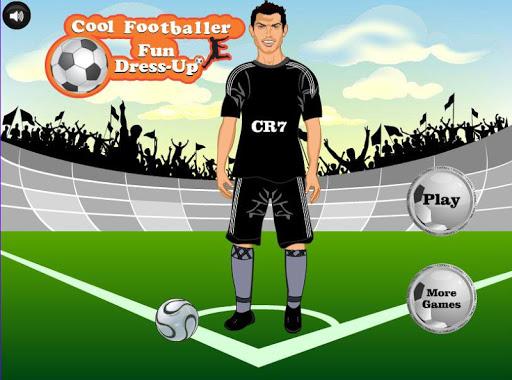 Cool Footballer Fun Dressup