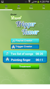 Dozier Visual Trigger Tamer – Miniaturansicht des Screenshots
