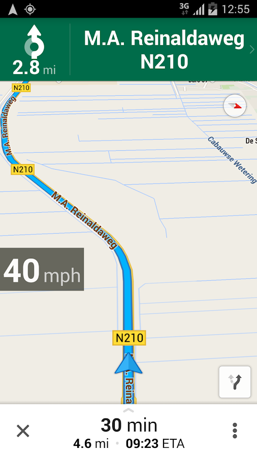 Maps Speedometer- screenshot