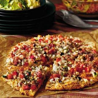 Garden Eggplant Pizza.