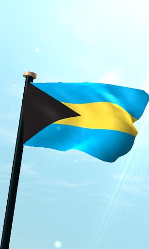 巴哈馬旗3D免費動態桌布