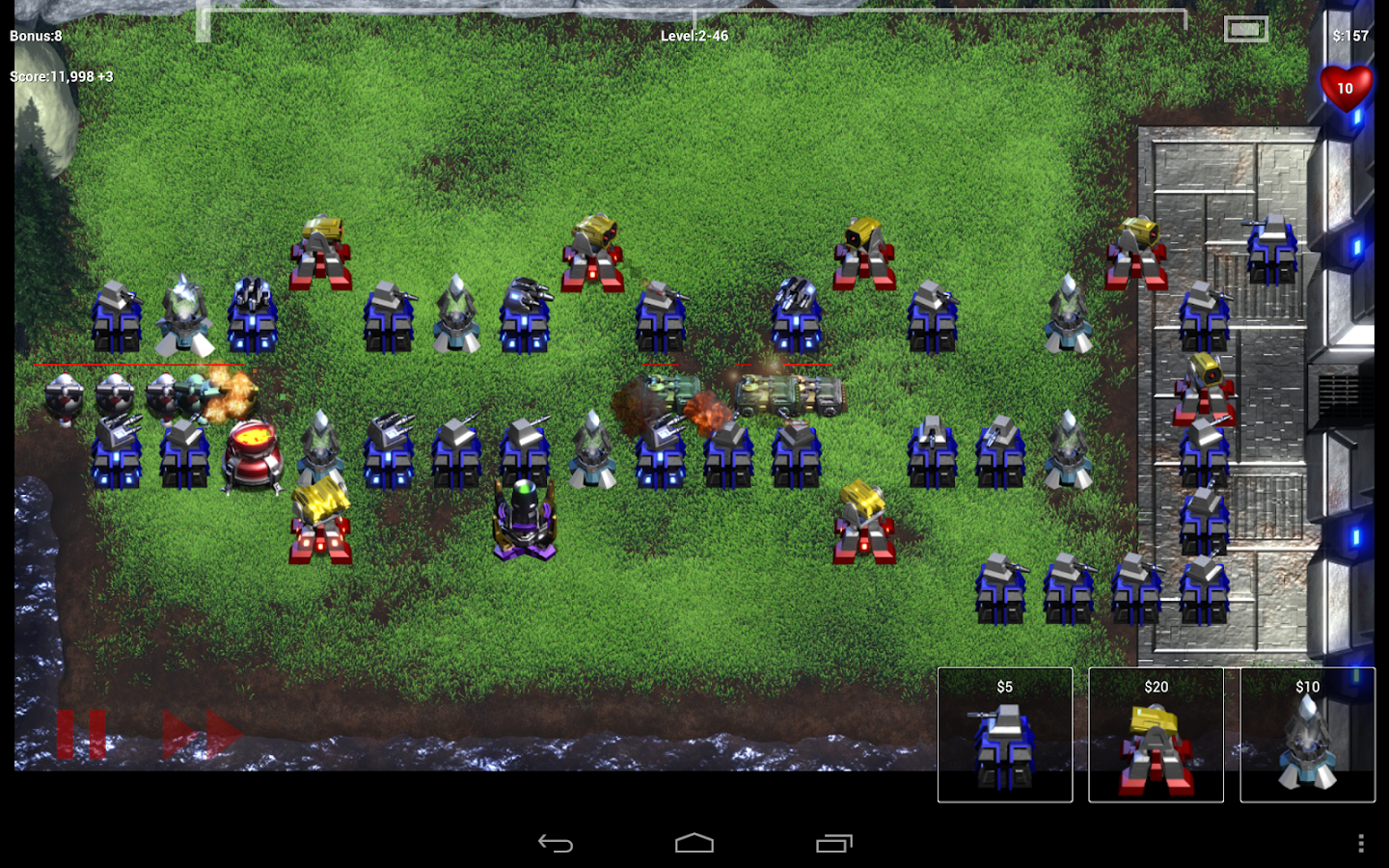 Robo Defense FREE - screenshot