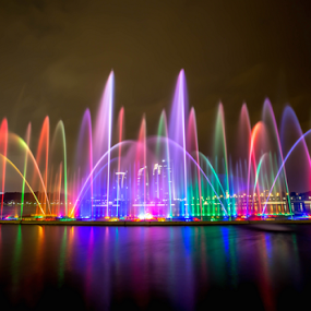 by PS FOONG - City,  Street & Park  Fountains