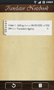 Translator Notebook - screenshot thumbnail