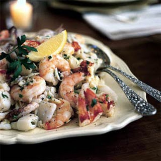 Mixed Seafood Salad.