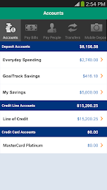 Citizens Bank Mobile Banking Screenshot 1