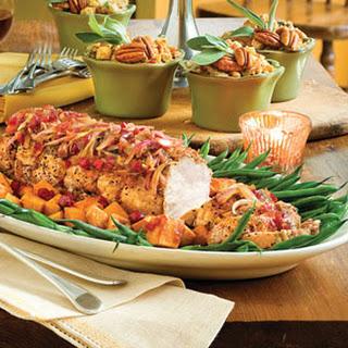Holiday Pork Loin Roast.