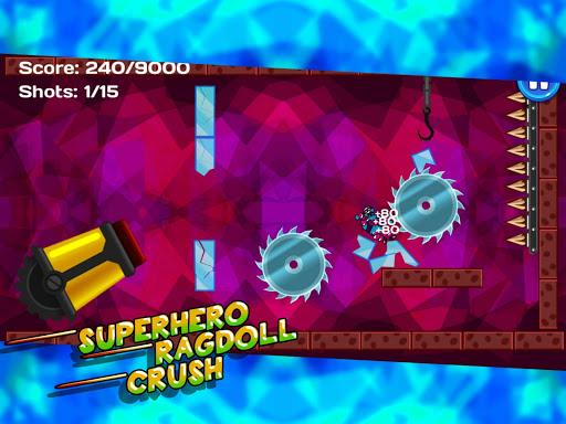 Superhero Ragdoll Crush