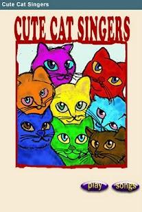 Cute Cat Singers- screenshot thumbnail