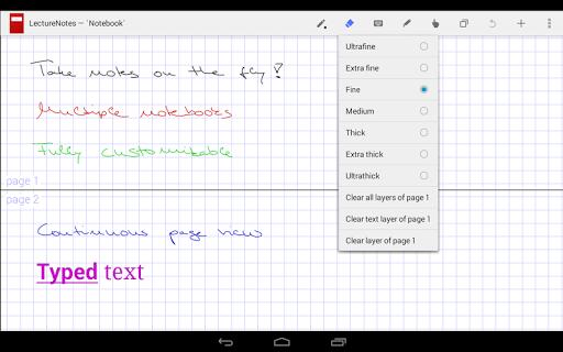 玩生產應用App|LectureNotes (Trial Version)免費|APP試玩