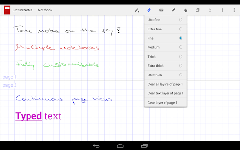 LectureNotes (Trial Version)- screenshot thumbnail