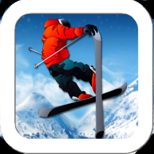 滑雪模拟器 體育競技 LOGO-玩APPs