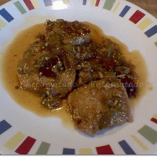 Pork in Tomatillo Sauce.
