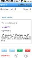 Screenshot of IQ