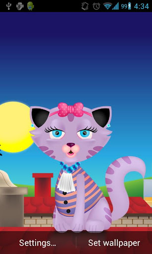 Download Kitty Cat Live Wallpaper Android Apps Apk 3183083 Kitty