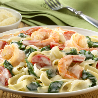 Knorr Creamy Shrimp Alfredo Recipe