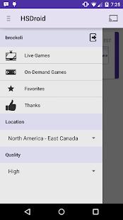 HSDroid - screenshot thumbnail