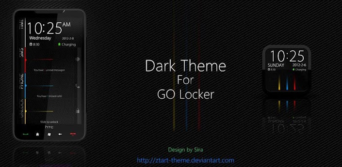 Dark GO Locker Theme