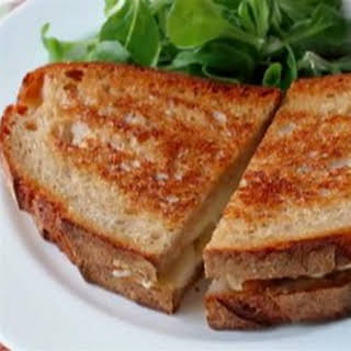 Grilled Brie Pear Sandwich.