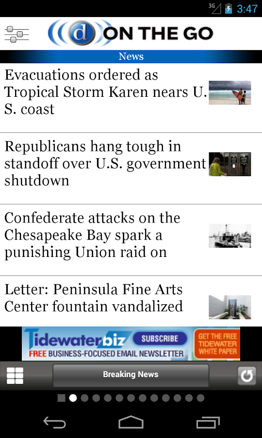 Daily Press - screenshot