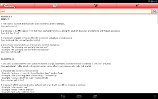 Screenshot of Free Dictionary Org