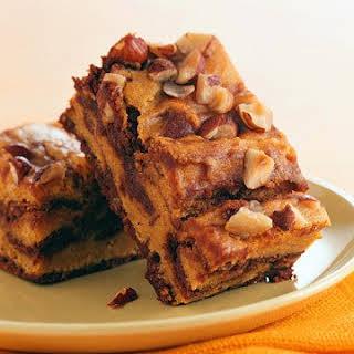 Pumpkin-Swirl Brownies.