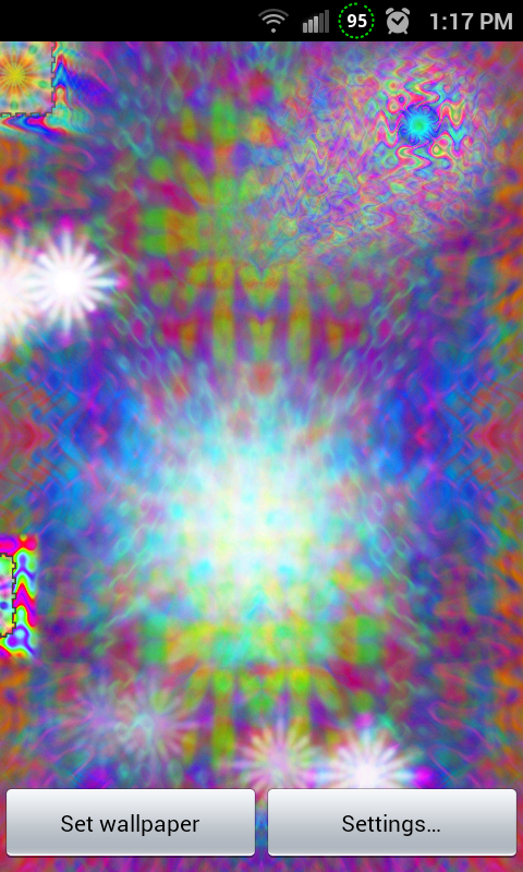 Classic Tie Dye FREE LWP - screenshot