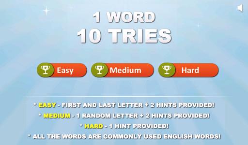 1 Word 10 Tries - FREE