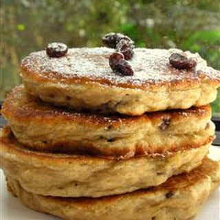 Apple Raisin Cakes.