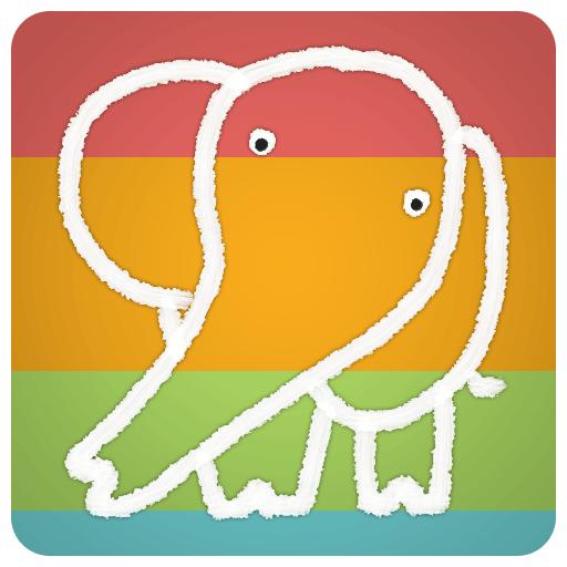 Gajah Pro: 코끼리 놀이 학습 - 수와 색깔 教育 App LOGO-APP試玩