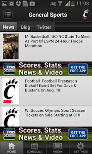 Bearcats Sports - screenshot thumbnail