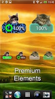 Screenshot of Kitten Battery Widget