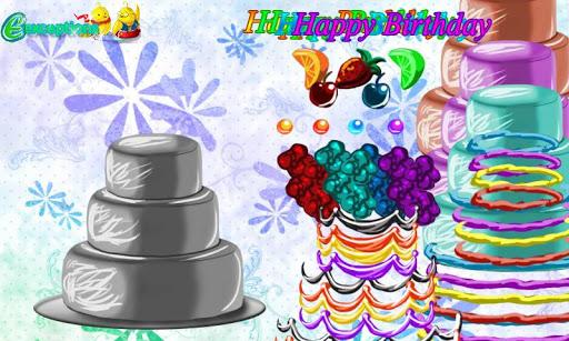 Birthday Cake Bash Dressup