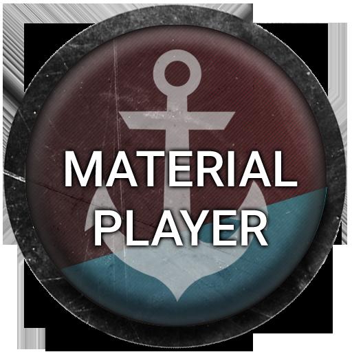 Material Player LOGO-APP點子