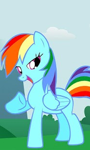 Slide Puzzle Pretty Pony