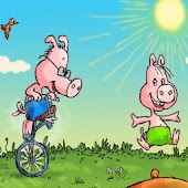 Three Little Pigs Kids Book