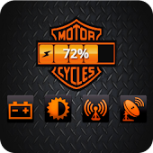 Harley-Davidson Battery Widget