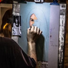 street Potret ART by Eddy Ahmad - People Professional People