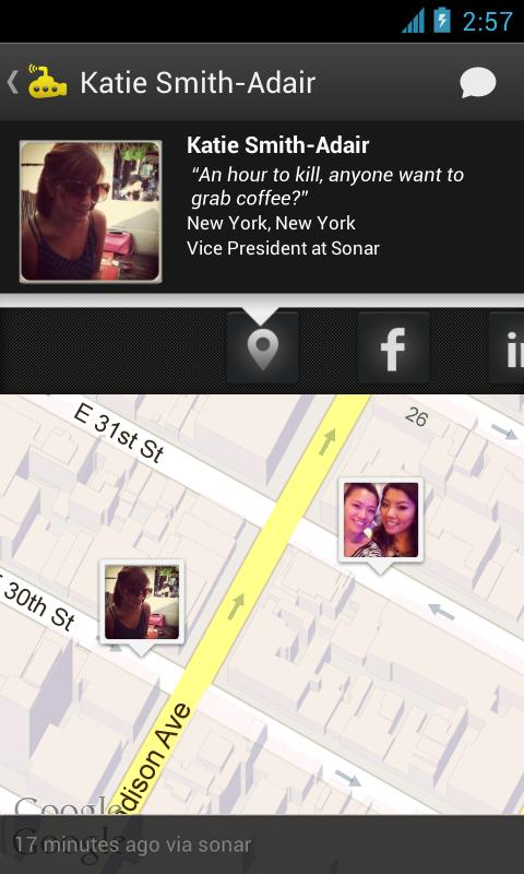 Sonar: Friends Nearby - screenshot