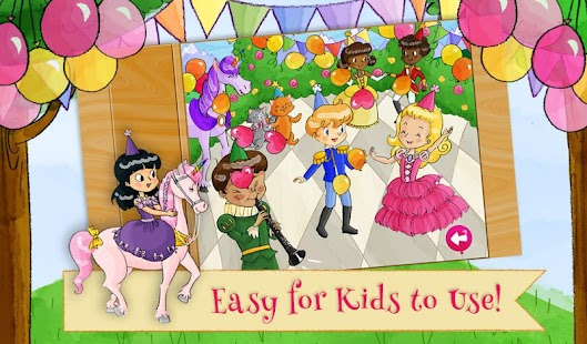 Princess Birthday Party Puzzle- screenshot thumbnail
