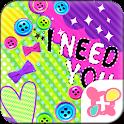 Cute Theme-Deco Pop- icon
