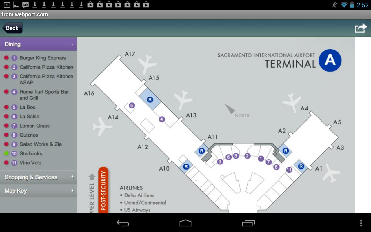 Sacramento Airport Radar Smf Flight Tracker Android