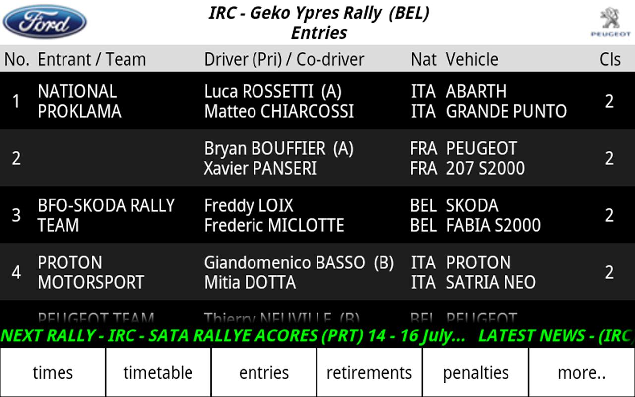 iRally- screenshot