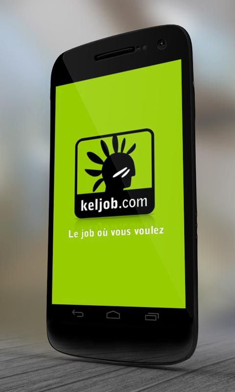 Keljob : Emploi, Job et Stage - screenshot