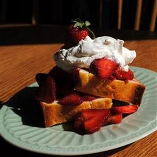 Strawberry-Citrus Shortcake