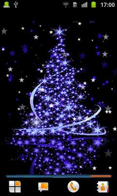 Christmas Tree Live Wallpaper - screenshot